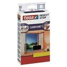 tesa Fliegengitter für Fenster anthrazit 130x150cm Comfort-Fenster