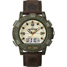 Timex Armbanduhr Expedition® Double Shock, braun