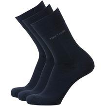 Tom Tailor Socken 3er-Pack dunkelblau 39-42