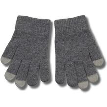 Touchscreen-Handschuhe (kapazitiv) Größe M-L, grau