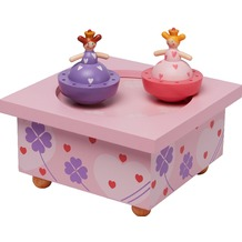Trousselier Holz Spieldose Prinzessin