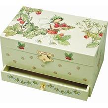 Trousselier Schmuck Spieldose Erdbeeren - F.Fairie