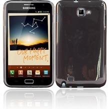 Twins Bright für Samsung Galaxy Note, grau-transparent