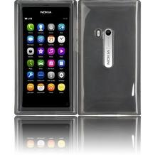 Twins Bright für Nokia N9, transparent-schwarz