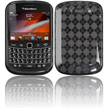 Twins Bright Squares für BlackBerry Bold 9900, grau