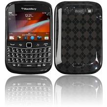 Twins Bright Squares für BlackBerry Bold 9900, schwarz