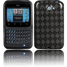 Twins Bright Squares für HTC ChaCha, grau