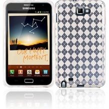 Twins Bright Squares für Samsung Galaxy Note, transparent