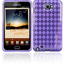 Twins Bright Squares für Samsung Galaxy Note, violett