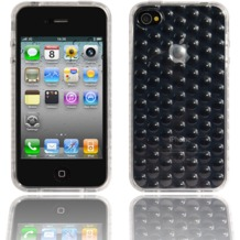 Twins Bubbles für iPhone 4, klar