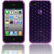 Twins Bubbles für iPhone 4, lila