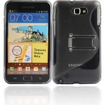 Twins Convenience für Samsung Galaxy Note, grau