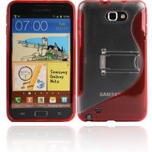 Twins Convenience für Samsung Galaxy Note, rot