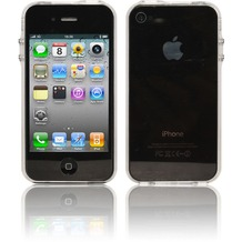 Twins Crystal Bumper für iPhone 4, klar