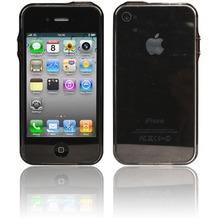 Twins Crystal Bumper für iPhone 4, schwarz
