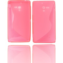 Twins Fancy Bright für Sony Xperia ZL, pink