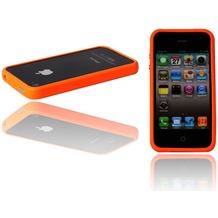 Twins Flashy Bumper für iPhone 4, knall-orange