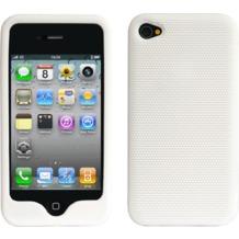 Twins Grip für iPhone 4, weiß