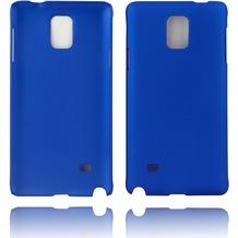 Twins Hardcase Softtouch für Galaxy Note 4,blau