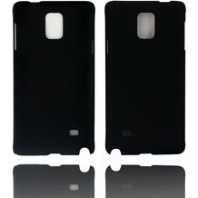 Twins Hardcase Softtouch für Galaxy Note 4,schwarz