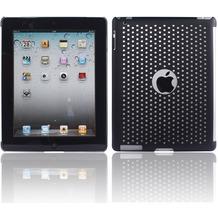Twins Perforated Big für iPad 2, schwarz
