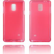 Twins Softcase Struktur für Galaxy Note 4,Pink