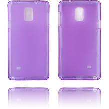 Twins Soft Case Struktur für Galaxy Note 4,lila