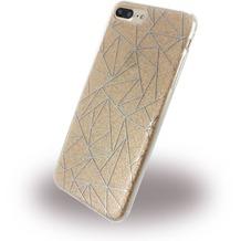 UreParts Tribal Case - Silikon Cover / Schutzhülle - Apple iPhone 7 Plus - Gold