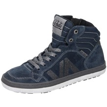 Vado Mädchen Midcut Sneaker blau 34