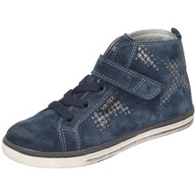 Vado Mädchen Midcut Sneaker Klett blau 35