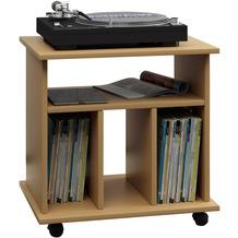 tv m bel hifi m bel in der farbe braun. Black Bedroom Furniture Sets. Home Design Ideas