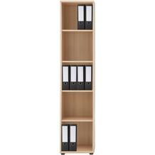 regal in der farbe braun. Black Bedroom Furniture Sets. Home Design Ideas