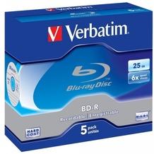 Verbatim BD-R 25GB Verbatim 6x 5er Jewel Case