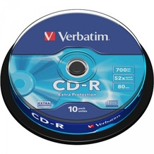 Verbatim CD-R 80 Verbatim 52x DL 10er Cakebox
