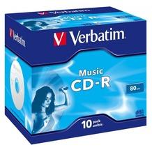Verbatim CD-R 80 Verbatim Audio 16x 10er Jewel Case