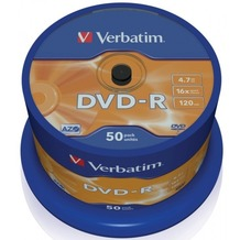 Verbatim DVD-R 4.7GB 16x 50er Cakebox