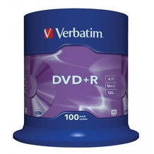 Verbatim DVD+R 4.7GB 16x 100er Cakebox