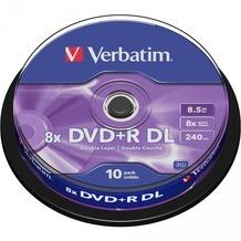 Verbatim DVD+R 8.5GB 8x DL 10 CB