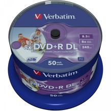 Verbatim DVD+R 8.5GB 8x IW 50 CB