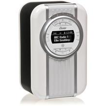 View Quest Christie, DAB+ Radio und Bluetooth-/NFC-Lautsprecher mit drehbarem Display, schwarz