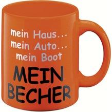 Waechtersbach Henkelbecher WK Mein Becher orange