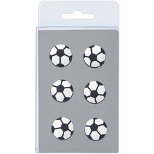 Walther Design Magnete, 6 x Fußball