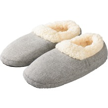 warmies Slippies Comfort grau 37-41