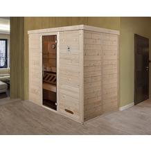 Weka Design-Sauna 529 GT BioS Fichte Natur