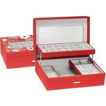 WINDROSE Charming Schmuckbox 30,5 cm red flowers