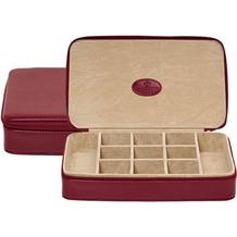 WINDROSE Merino Schmuckbox 23 cm rot