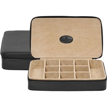 WINDROSE Merino Schmuckbox 23 cm schwarz