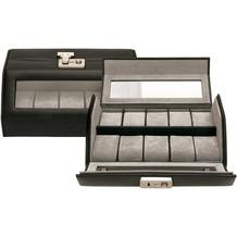 WINDROSE Nappa Uhrenkassette 23 cm Leder schwarz