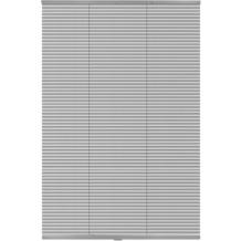 Lichtblick Jalousie Klemmfix Top Alu, ohne Bohren, verspannt  Silber Breite: 100 cm, Länge: 130 cm