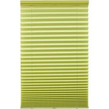 Lichtblick Plissee Klemmfix, ohne Bohren  Grün Breite: 100 cm, Länge: 130 cm
